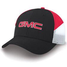 GMC Black/Red/White Side Vent Hat