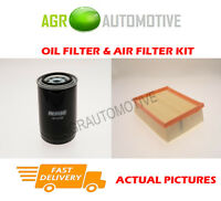 PETROL SERVICE KIT OIL AIR FILTER FOR LAND ROVER RANGE ROVER 4.0 190 BHP 1994-02