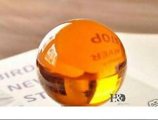 40mm+Stand Rare Magic Amber Glass Crystal Healing Ball Sphere With