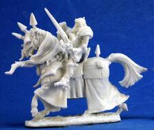 1 x COMTE LORENTH - BONES REAPER miniature rpg d&d cavalier cheval horse 77355