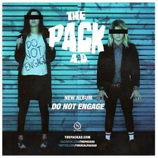 THE PACK A.D. Do Not Engage Ltd Ed RARE Sticker +FREE Rock/Punk/Indie Stickers!