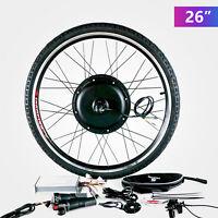 """36V 500W 26"""" Rear Wheel Electric Bicycle E-bike Kit Conversion Cycling Motor"""