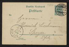 GERMANY 1227-STRASBOURG -(1895)