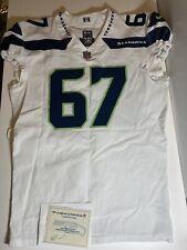 Seattle Seahawks Joey Ivie Game Worn/Used Jersey Seahawks COA