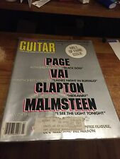 March 1987 Guitar For The Practicing Musician Magazine Hall Of Fame Issue