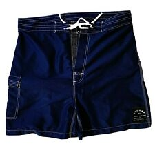 Jacobs by Marc Jacobs Mens Navy Blue Board Shorts Slim Fit
