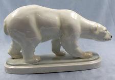 großer Eisbär porzellanfigur figur Porzellan Herzinger & Co volkstedt 1930