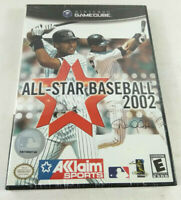Jeu GameCube NTSC US  All Star Baseball 2002  Neuf et scelle  Envoi rapide suivi