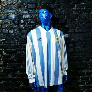 Maradona Argentina Jersey Retro Replica Home shirt 1978 - 1980 Adidas Size XL