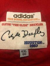 Authentic Adidas Clyde Drexler Basketball Jersey 4Xl