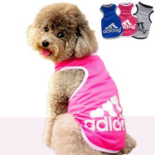 Cute Pet Dog Cat Puppy Pink Hoodie Coat For Small Pet Dog Vest Costume Apparel