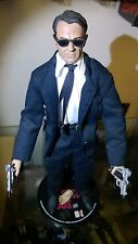 "Reservoir Dogs 12"" Sideshow exclusive Mr White Harvey Keitel figure"