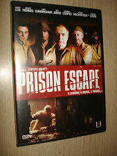 DVD PRISON ESCAPE COX FIENNES CUNNINGHAM JORGE COOPER ITALIANO ENGLISH