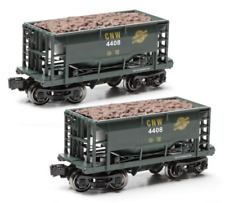 Ore Car 2-Pack O Gauge Menards Chicago & Northwestern TWO ORE CARS NEW 2020