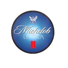 Michelob Ultra Sign - 14 inch diameter aluminum sign