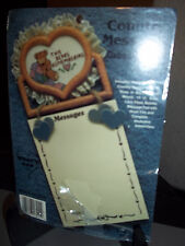 Country Message Pad Holder Cross Stitch Kit