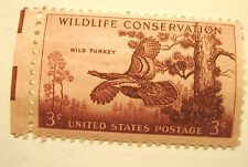 3c 1956 Wild Turkey Stamp