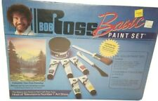 Factory Seal NIB Vintage Bob Ross Basic Oil Paint Set Painting Artist Kit R6505