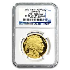 2012-W 1 oz Proof Gold Buffalo PF-70 NGC (ER) - SKU #68477