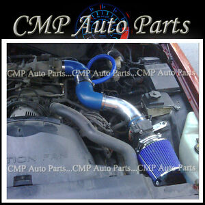 BLUE 1996-2002 MERCURY GRAND MARQUIS 4.6 4.6L V8 AIR INTAKE KIT INDUCTION SYSTEM