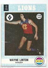 1977 Scanlens (68) Wayne LINTON Fitzroy