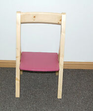Kids Folding Wooden Chair