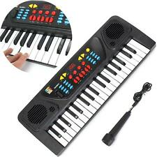 37 Keys Electronic Keyboard Piano Musical Toy Mic Records Kids Children