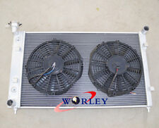 3Row Aluminum Radiator & Fans for Holden Commodore VY V6 6CYL 02 03 04 MT Manual