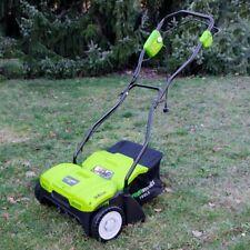 Greenworks GDT35 Elektrischer Vertikutierer 1100 W 35cm Arbeitsbreite