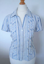Collared Fitted Blouse Size Petite for Women