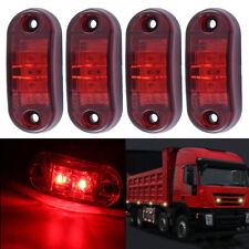 10x 2 LED Side Marker Lights LED Truck Side Light Trailer Red Light Universal