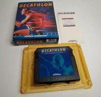 Atari 5200 Activision Decathlon Complete - Box Game Manual