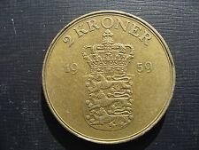 Denmark 2 Kroner 1959.
