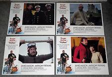 FFOLKES/NORTH SEA HIJACK original lobby card set ROGER MOORE 11x14 movie posters