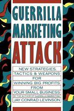 Guerrilla Marketing Attack [Paperback] [Feb 20, 1989] Levinson President, Jay Co