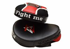 2Pcs AZ Curved Punch Mitts Focus Pads Boxing Equipment MMA Gear -1473