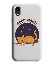 Sleepy Cat Phone Case Cover Cats Design Sleep Sleeping Cats Ginger Night E198