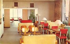 Illinois postcard Chicago Allerton Hotel Tip Top Tap bar lounge nightclub