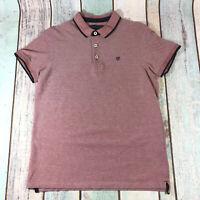 Jack & Jones Premium Mens polo shirt Medium/slim Red
