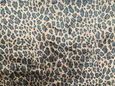 Webpelz Kurzhaar kuscheliges Kunstfell Stoffe Dekoration 1309 Braun Leopard