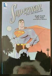 SUPERMAN #1 For all Seasons TPB Trade Paper Back (1999 5th Print, DC Comics)