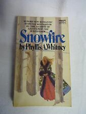 Snowfire by Phyllis A Whitney (paperback, 1973)