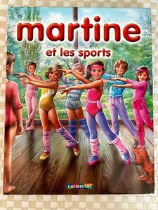 LIVRE MARTINE et les sports casterman 8 histoires cartonné quasi NEUF