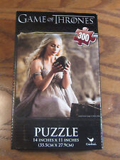 The Game of Thrones Puzzle- Jigsaw- 300 Pieces- Kahleesi with Dragon Egg - 2014