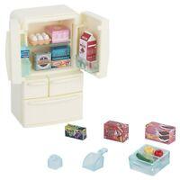 Epoch Sylvanian Families furniture Refrigerator set Doll House Accessory Japan