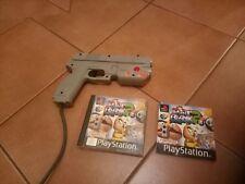 Point Blank 2 ps1 PLUS Namco G-Con 45 Gun