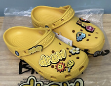 NEW Justin Bieber Drew House Crocs Clog Size M7/W9 IN HAND FAST SHIPPING