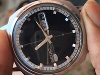 Seiko Automatic 6199-6003 vintage Men watch day date excellent keeping time