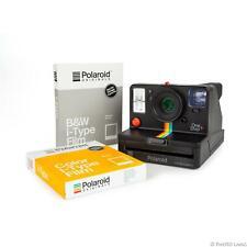 Polaroid OneStep+  schwarz Sofortbildkamera Bluetooth OneStep Filmdoppelpack