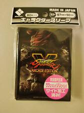 Street Fighter V Akuma Card Sleeve Broccoli Capcom Weiss Schwarz Dragon Magic
